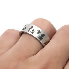 Dragon Ball Time Evolution Steel Ring