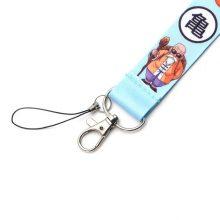 Dragon Ball Lanyard Cord Strap Keychain